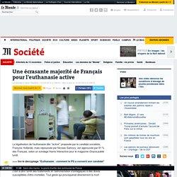Une écrasante majorité de Français pour l'euthanasie active