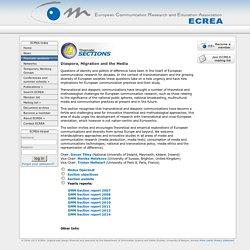 ECREA online - Sections