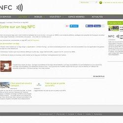 Ecrire sur un tag NFC