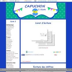 Ecriture - Capuchon à l'école