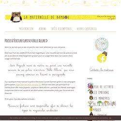 """Police d'écriture cursive """"Belle Allure"""""""