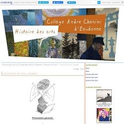 L'écriture de soi, Serguei - l'histoire des arts au collège André Chénier d'Eaubonne