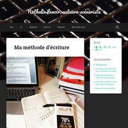 Ma méthode d'écriture – Nathalie Lenoir, auteure-scénariste