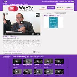 Ecriture numérique. - Séminaire Precip 2012 - UNR Picardie