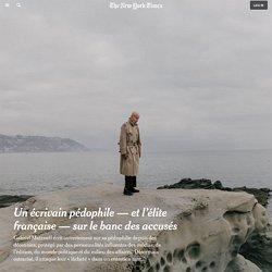 Un écrivain pédophile — et l'élite française — sur le banc des accusés