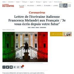 """Lettre de l'écrivaine italienne Francesca Melandri aux Français : """"Je vous écris depuis votre futur"""" - Paris (75000)"""