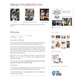 Ecrivaines - Olympe et le plafond de verre - blog féministe