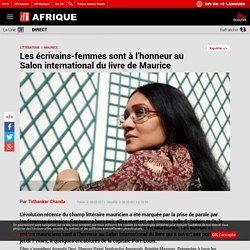 Les écrivains-femmes sont à l'honneur au Salon international du livre de Maurice