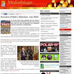 Sélection, mai 2015