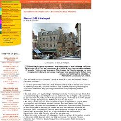 Sur les pas des ecrivains : Pierre LOTI à Paimpol