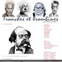 Writers / Écrivains : Tronches et trombines