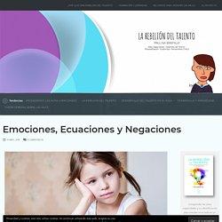 Emociones, Ecuaciones y Negaciones