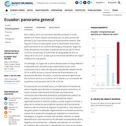 Ecuador: panorama general