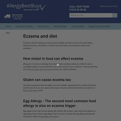 Eczema and diet – Allergy Best Buys