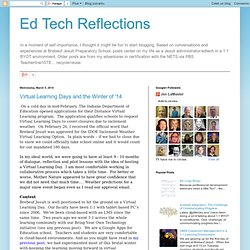 Ed Tech Reflections