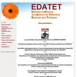 EDATET Entraide et Défense des Acteurs de Télécoms Exposés aux Toxiques