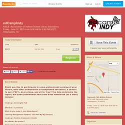 edCampIndy Tickets, Indianapolis