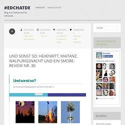 Blog zum Twitterchat für Lehrende