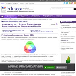 EDD en action - eduscol