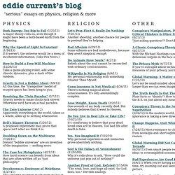 Edward Current Blog