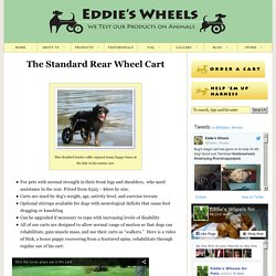Eddie's Wheels Rear Wheel carts for Handicapped Pets