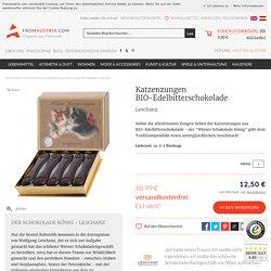 Leschanz Katzenzungen BIO Edelbitterschokolade - From Austria
