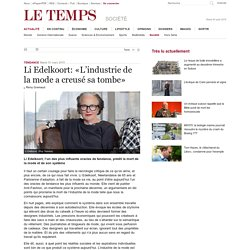 Li Edelkoort: «L'industrie de la mode a creusé sa tombe»