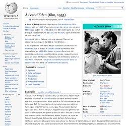 À l'est d'Éden (film, 1955)