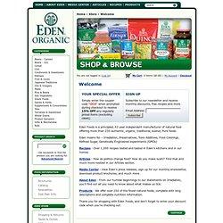 Eden Foods - Buy Eden Foods Online
