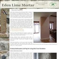 Eden Lime Insulation