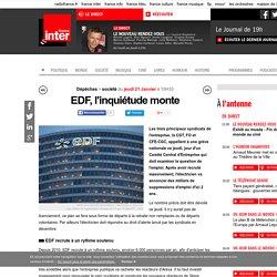 EDF, l'inquiétude monte