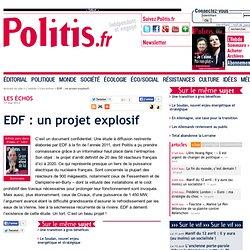 EDF : un projet explosif