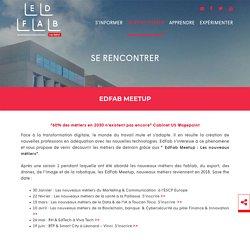 Edfab Meetup 2017 : Les nouveaux métiers