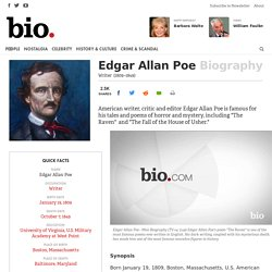 Edgar Allan Poe - Writer