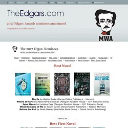 Edgar Award Nominees