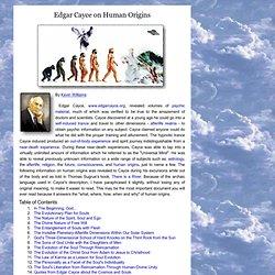Edgar Cayce on human origins