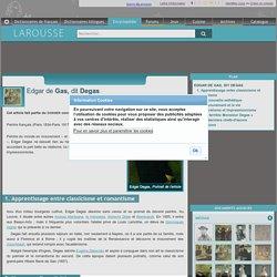 Edgar de Gas dit Degas