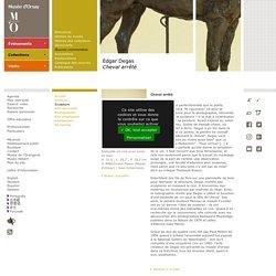 Edgar Degas Cheval arrêté