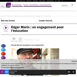 Edgar Morin : un engagement pour l'éducation