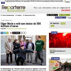 Edgar Morin a volé une chaise de 500 millions d'euros