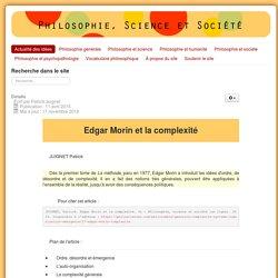 Edgar Morin et la complexité
