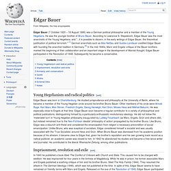 Edgar Bauer