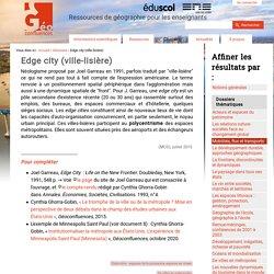 Edge city (ville-lisière)
