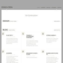 Edge-Crea | Un blog utilisant WordPress