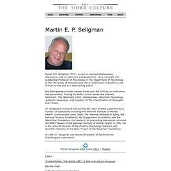 Martin seligman learned helplessness and power of optimism