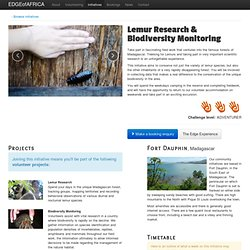 Conservation and Community Volunteer Projects in Africa