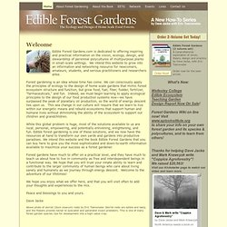 Edible Forest Gardens-Home