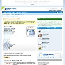 Edición escaneada en PDF de La Gran Guía de los Blogs 2008 en Bitacoras