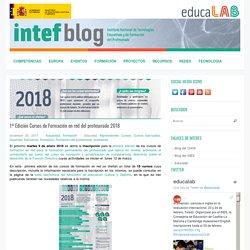 1ª Edición Cursos de Formación en red del profesorado 2018