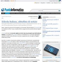 Edicola Italiana, abbuffata di notizie